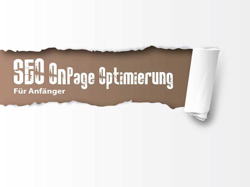 Onpage Optimierung Webdesign